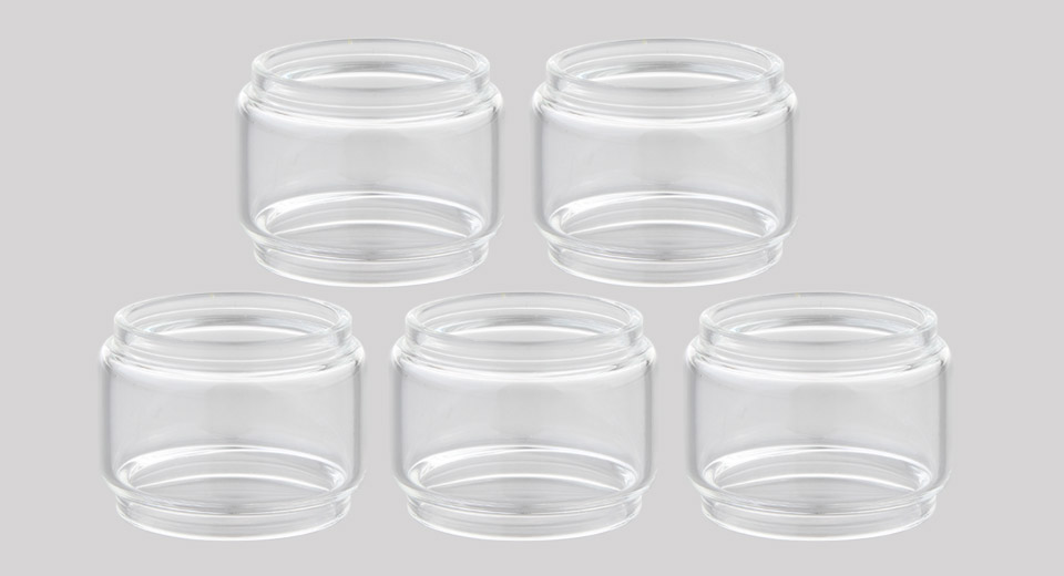 Replacement Glass Tank for Vandy Vape Kylin V2 RTA Atomizer (5-Pack)