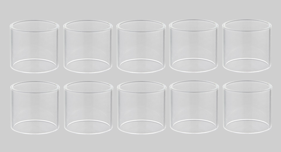 Replacement Glass Tank for Vandy Vape Kylin V2 RTA Atomizer (10-Pack)