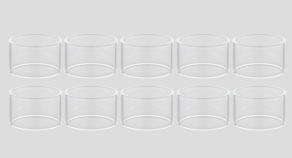Replacement Glass Tank for Wotofo Profile Unity RTA Atomizer (10-Pack)