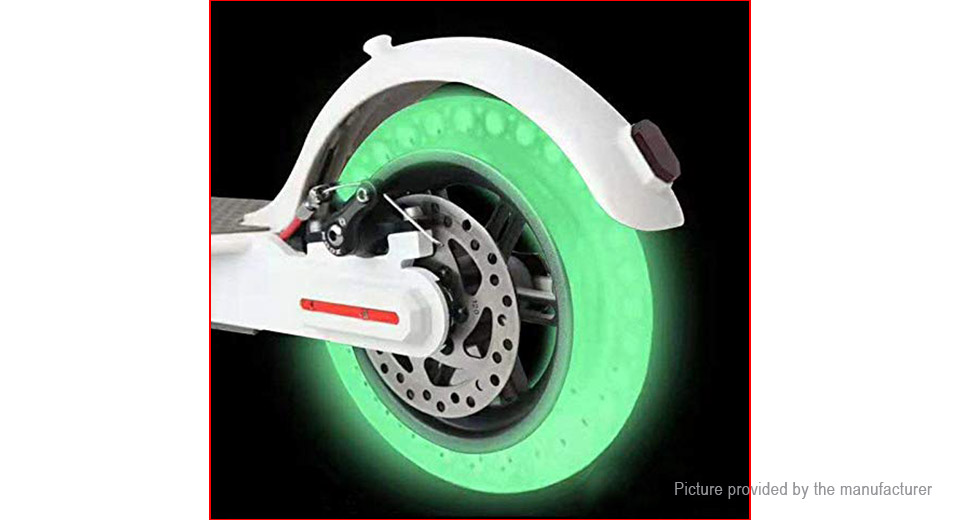 8.5 Fluorescent Tire Tubeless Solid Tyre for Xiaomi MiJia M365 Electric Scooter (2-Pack)