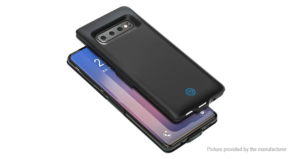 Rechargeable External Battery Back Case for Samsung Galaxy S10e (6000mAh)