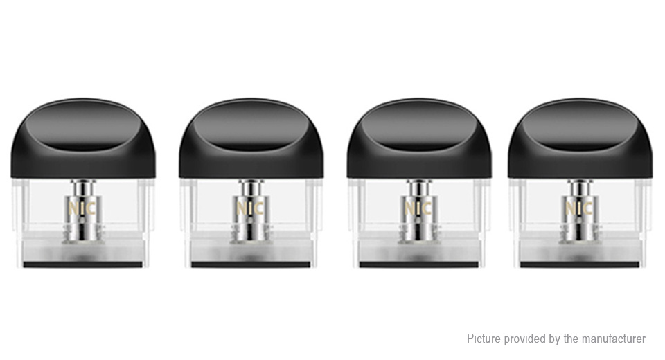 Authentic Yocan Trio Replacement E-juice Pod Cartridge (4-Pack)