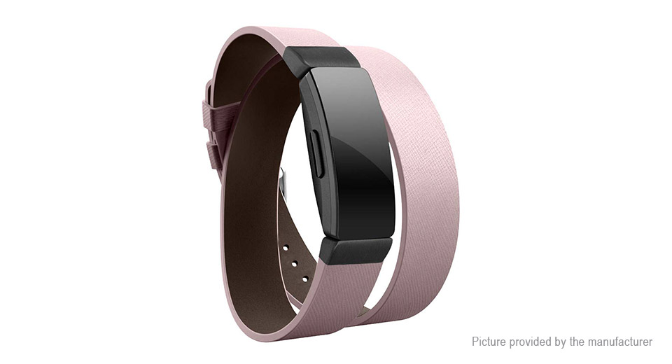 Replacement Leather Watchband Strap for Fitbit Inspire