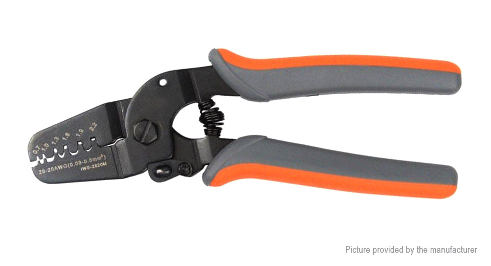 Authentic IWISS FSA-0626 Multifunctional Wire Stripper Cutting Pliers