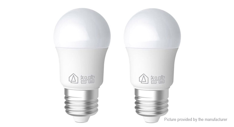 Authentic Xiaomi MiJia Philips Zhirui E27 LED Light Bulb (2-Pack)