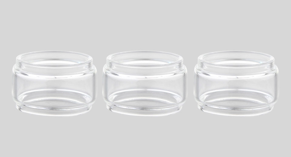 Replacement Glass Tank for Vandy Vape Jackaroo (3-Pack)