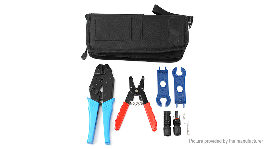 MC4-TOO Solar Panel PV Connector Crimping Pliers Tool Set