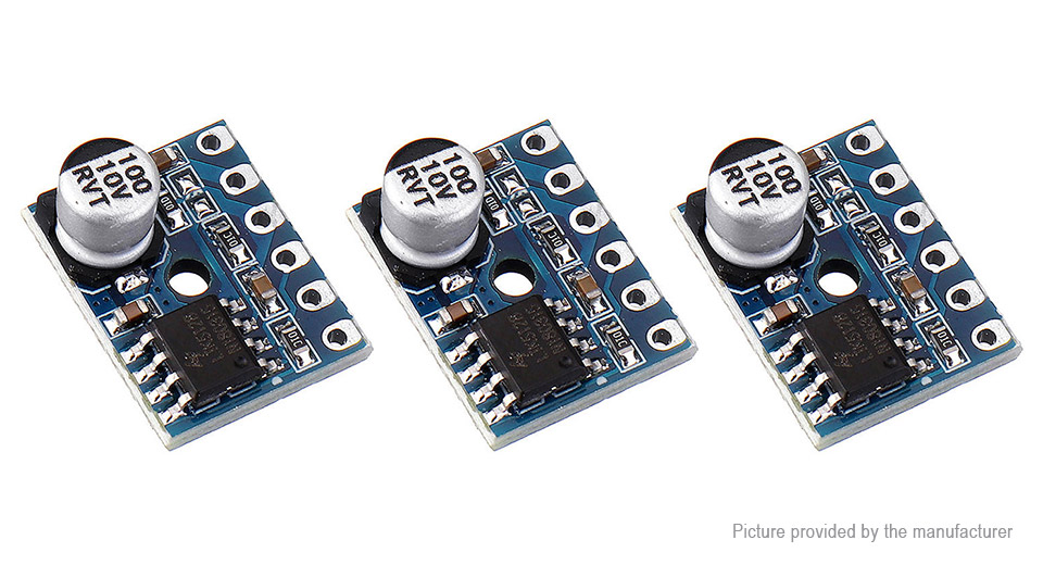 XY-SP5W 5W Single Channel Audio Amplifier Board Module (3-Pack)