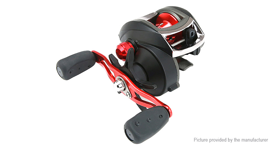 8.1:1 Gear Ratio Right Handed Baitcasting Fishing Reel