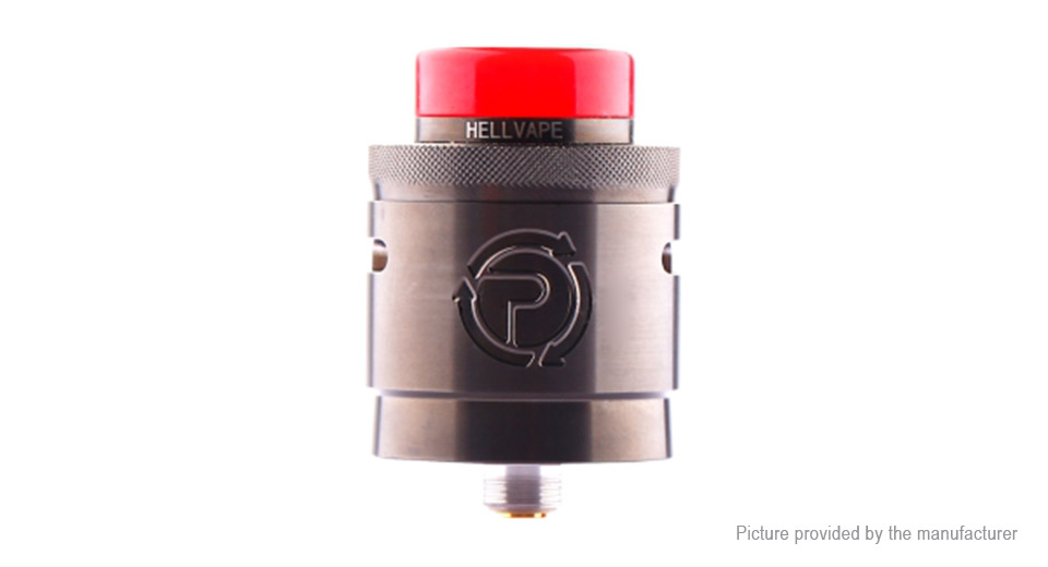 Authentic Hellvape Passage RDA Rebuildable Dripping Atomizer