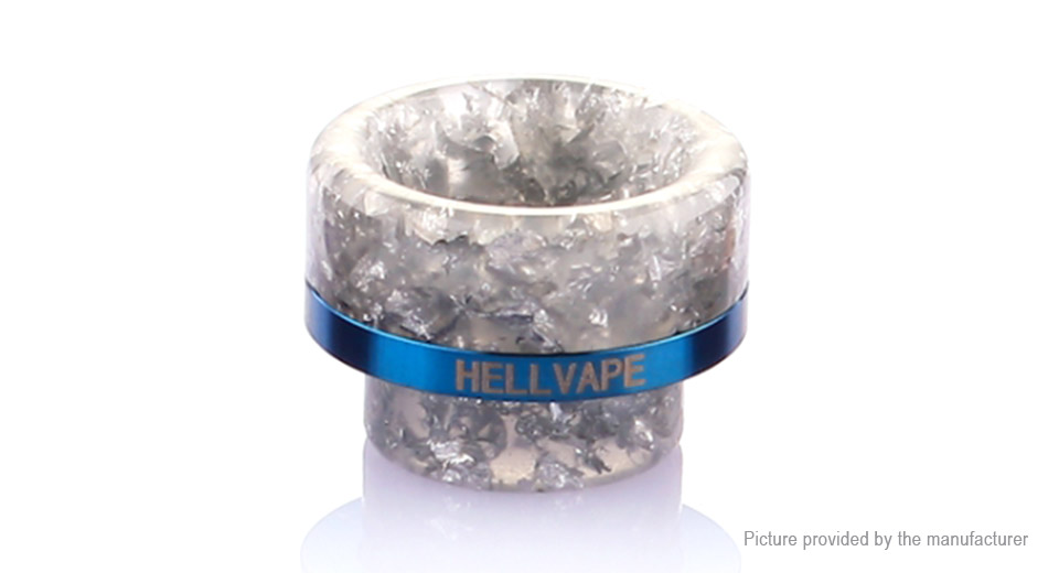 Authentic Hellvape Resin 810 Drip Tip For Passage RDA Atomizer