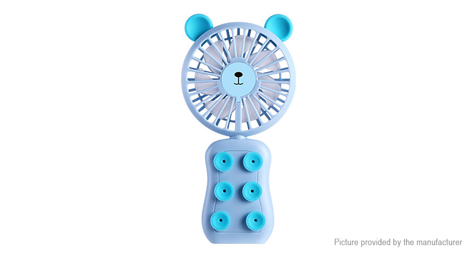 Hat.Prince Mini Suction Cup Folding Handheld USB Cooling Fan