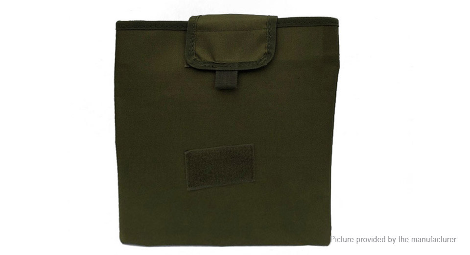 Airsoft Tactical Molle Mag Dump Drop Pouch Folding Recovery Magazine Bag
