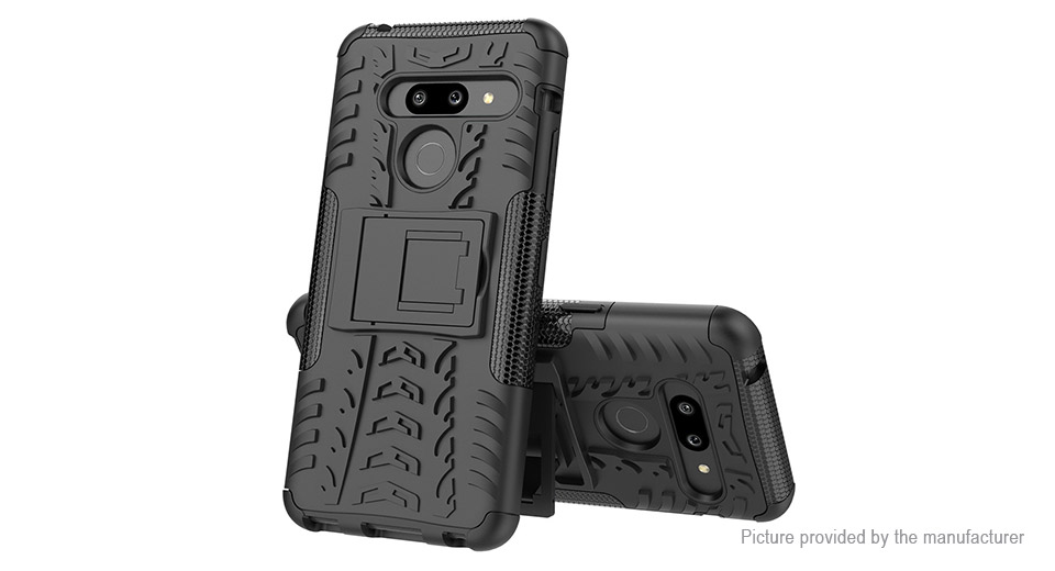 Rugged Dual Layer Armor Case Protective Back Cover for LG Stylo 5