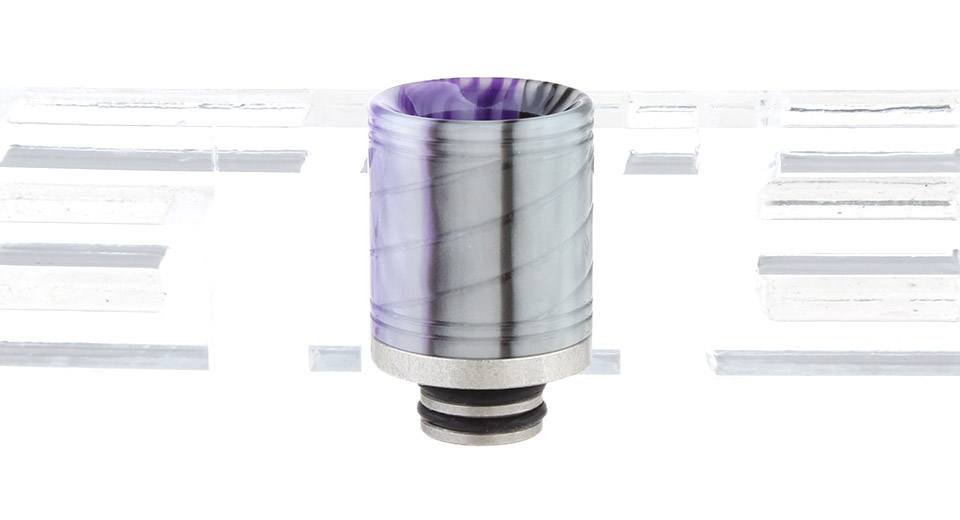 Resin + Stainless Steel Hybrid 510 Drip Tip