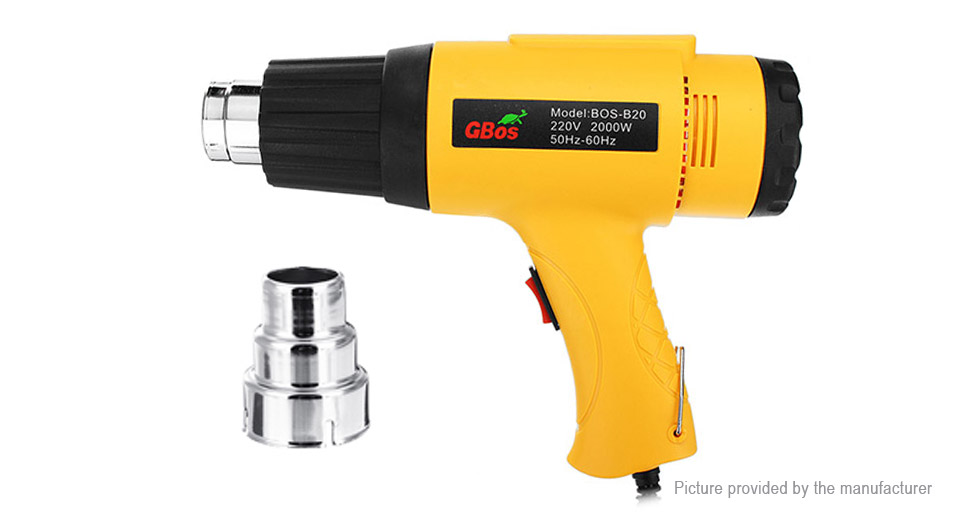 GBos BOS-B20 2000W Electric Hot Air Heat Gun