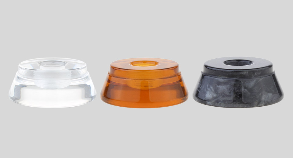 AOLVAPE Acrylic + PEI + Resin Stand for 510 Thread Atomizers (3 Pieces)