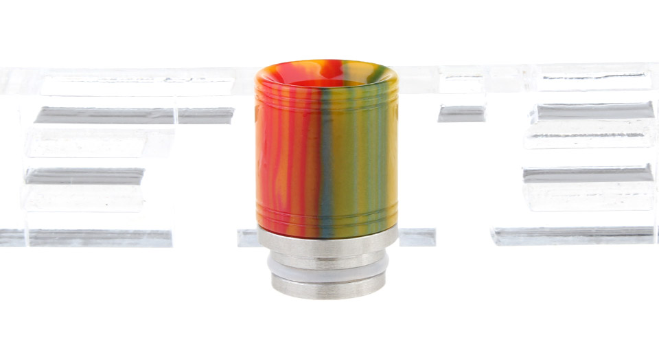 Resin + Stainless Steel Hybrid 810 Drip Tip