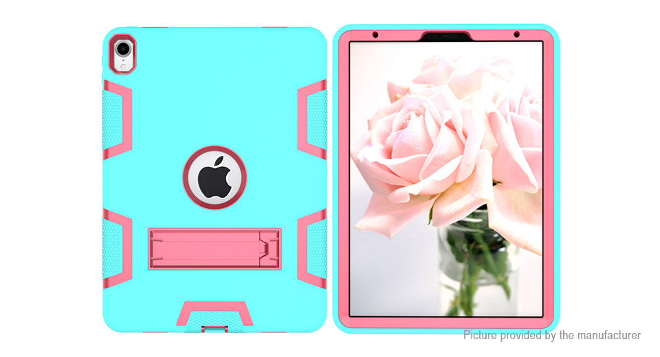 3-Layer Armor Defender Case Protective Stand Back Case Cover for iPad Pro 11 2018