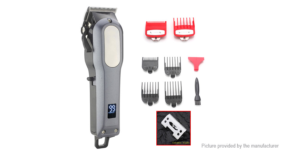 WMARK NG-101 Professional Cordless Hair Clipper Trimmer Kit