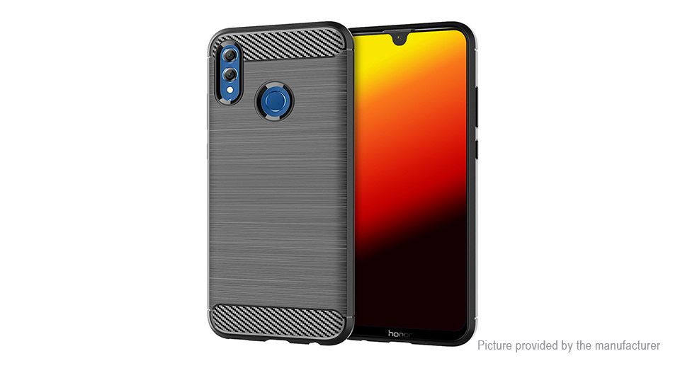 TPU Brushed Protective Back Case Cover for Huawei P Smart 2019