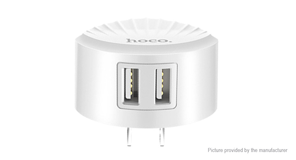 Authentic hoco C67 Dual USB Wall Charger Power Adapter (US)