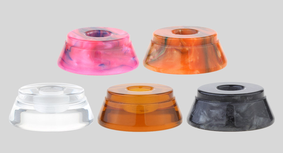 AOLVAPE Acrylic + PEI + Resin Stand for 510 Thread Atomizers (5 Pieces)