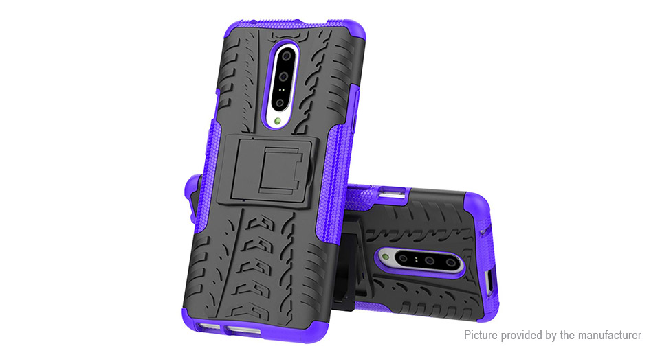 TPU + PC Dual Layer Armor Case Protective Back Cover for OnePlus 7 Pro