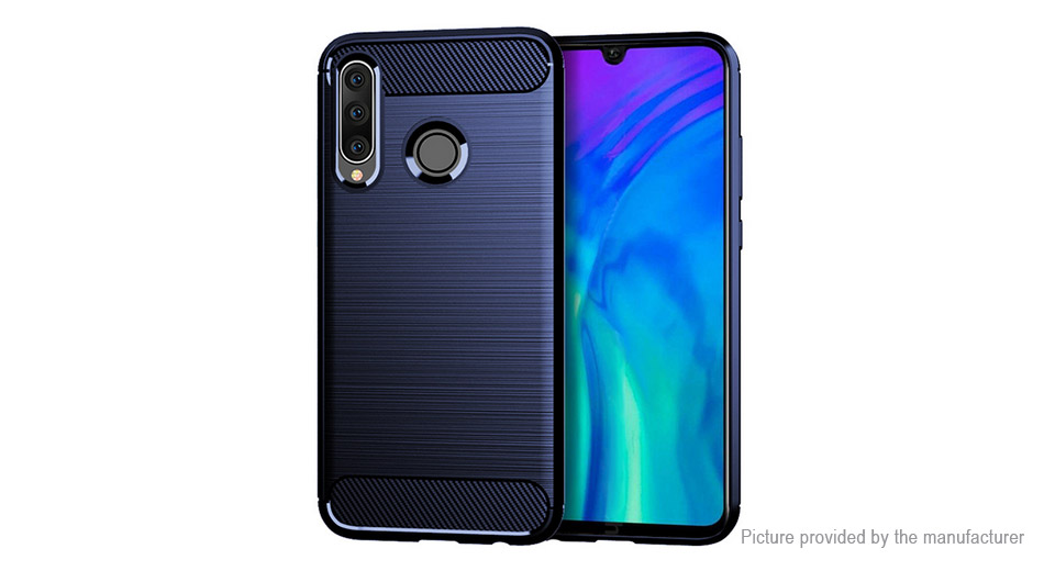 TPU Brushed Protective Back Case Cover for Huawei Honor 20 Lite