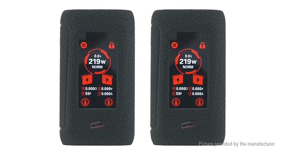 Protective Silicone Sleeve Case for Smoktech SMOK Morph 219 219W Mod (2-Pack)