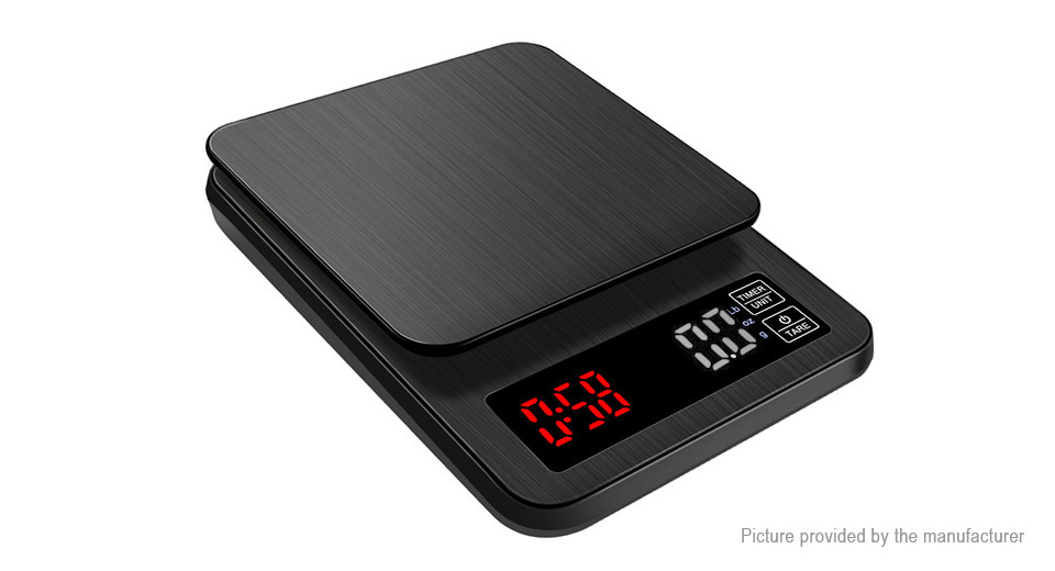 High Accuracy LCD Digital Electronic Kitchen Coffee Bean Scale (5kg/0.1g)
