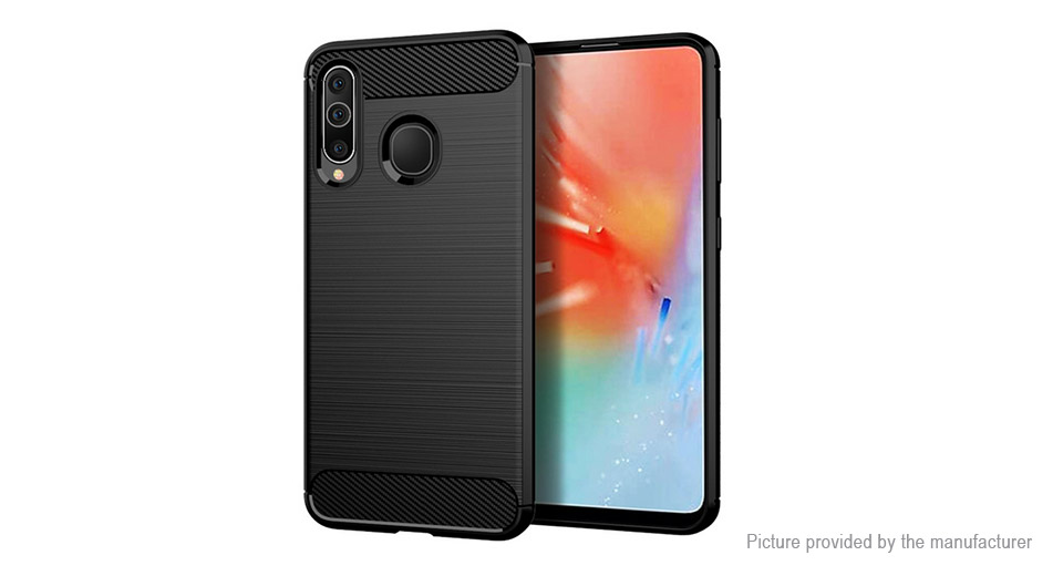 TPU Brushed Protective Back Case Cover for Samsung Galaxy A60