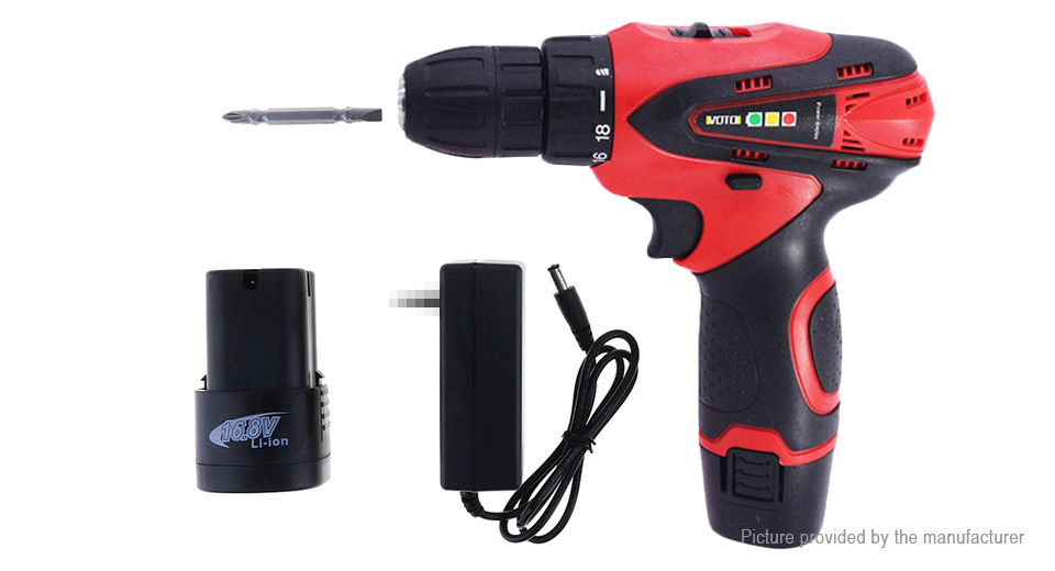 VOTO 16.8V Rechargeable Cordless Electric Screwdriver