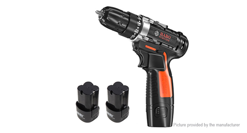 HABO 16.8V Cordless Electric Drill Household Maintenance Tools Kit