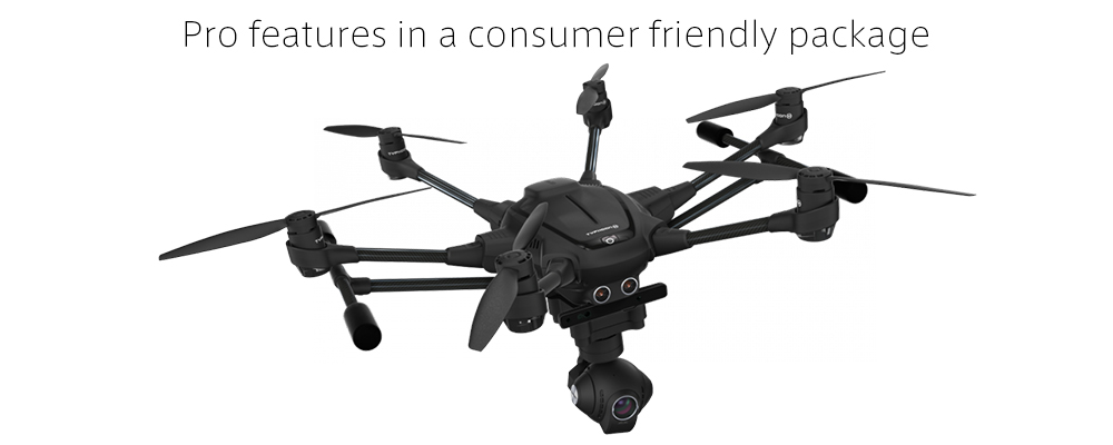$827.95 Yuneec Typhoon H H480 R/C Hexacopter Drone (5.8GHz