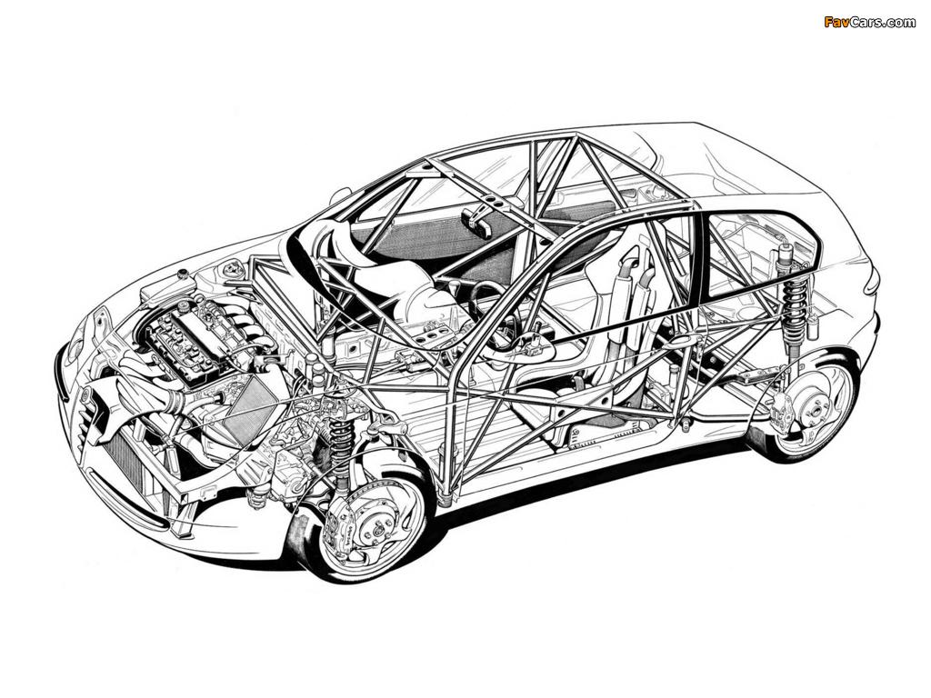 Pictures of Alfa Romeo 147 Super Produzione Concept SE087