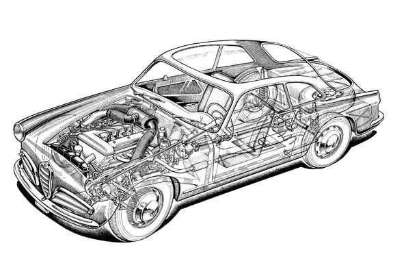 Photos of Alfa Romeo Giulietta Sprint 750 (1954–1958)
