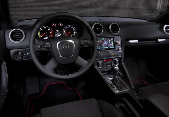 Audi A3 E Tron Prototype 8pa 2011 Images