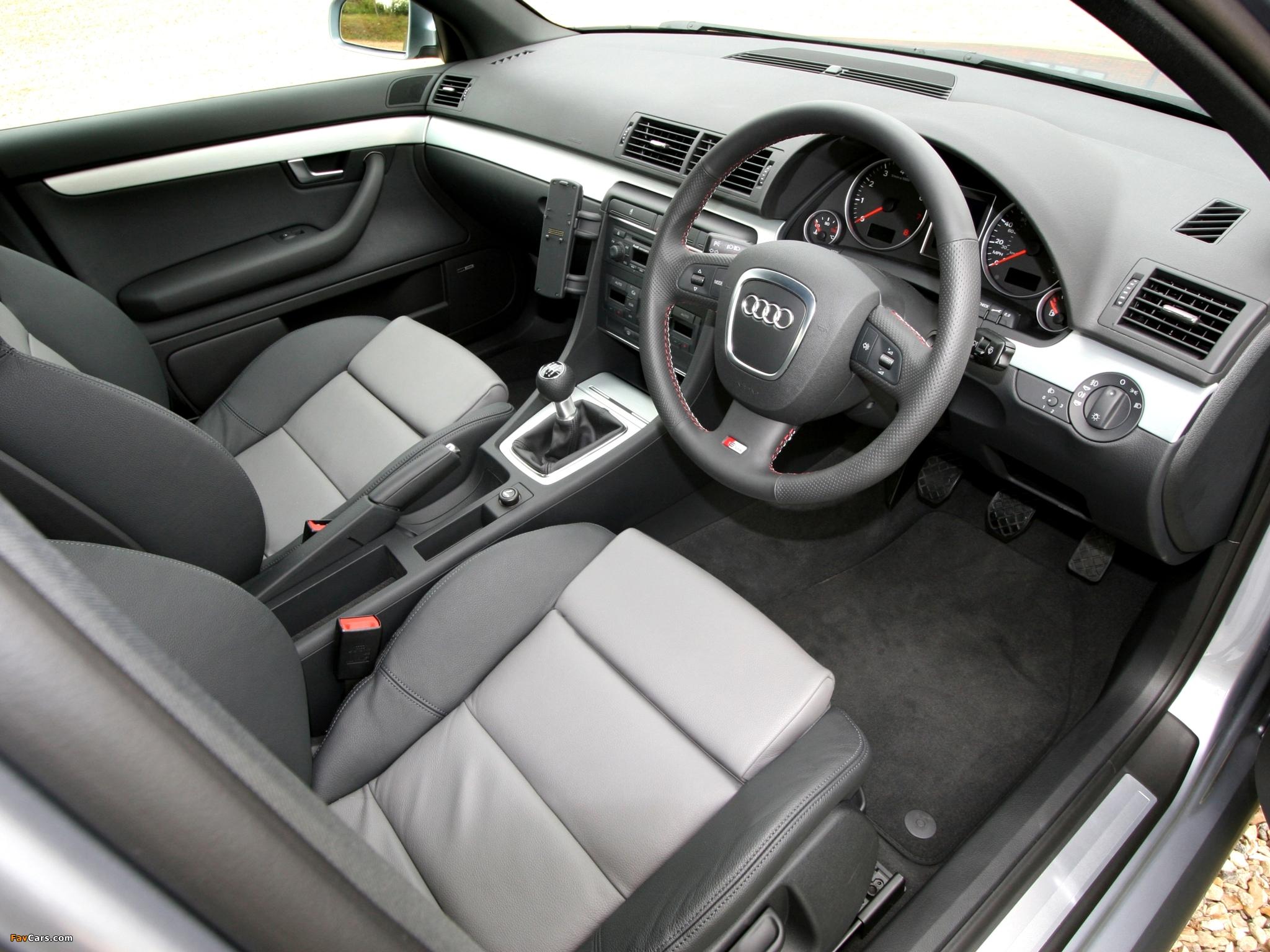 Audi A4 20T S Line Sedan UK Spec B78E 20042007