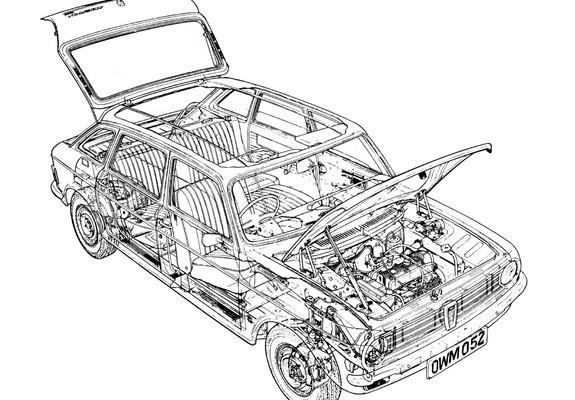Pictures of Austin Maxi 1969–81