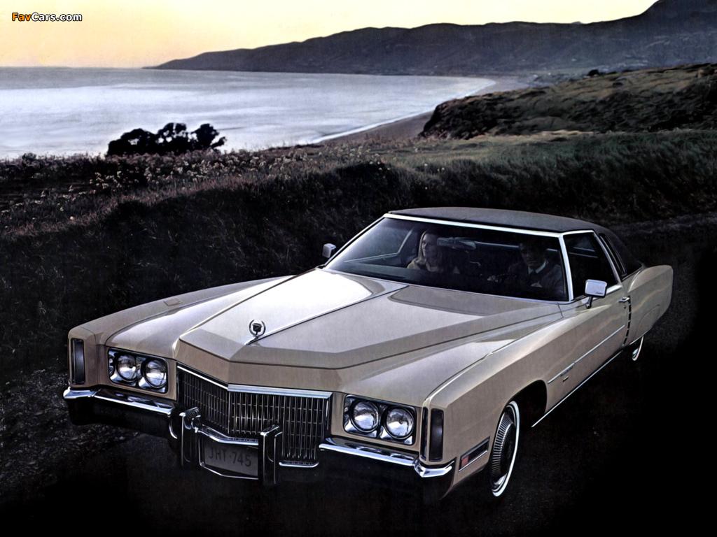Cadillac Eldorado Coupe 1971 Pictures (1024x768