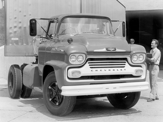 Wallpapers of Chevrolet Spartan 90 Chassis Cab 1958