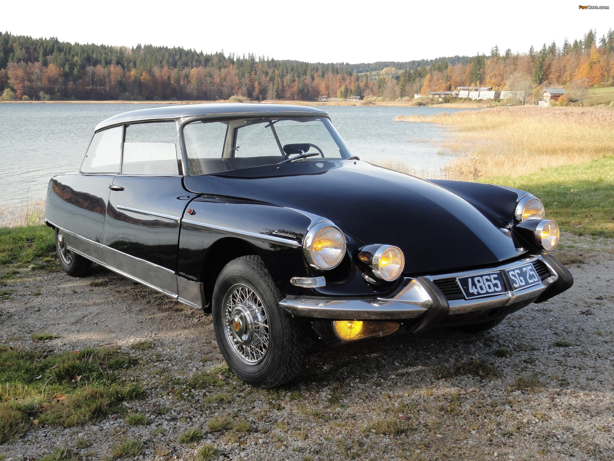 Citroën Ds 21 Concorde Coupe By Chapron 196568 Wallpapers