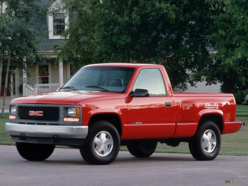 medium resolution of pictures of gmc sierra regular cab work truck 1992 98 1280 x 960