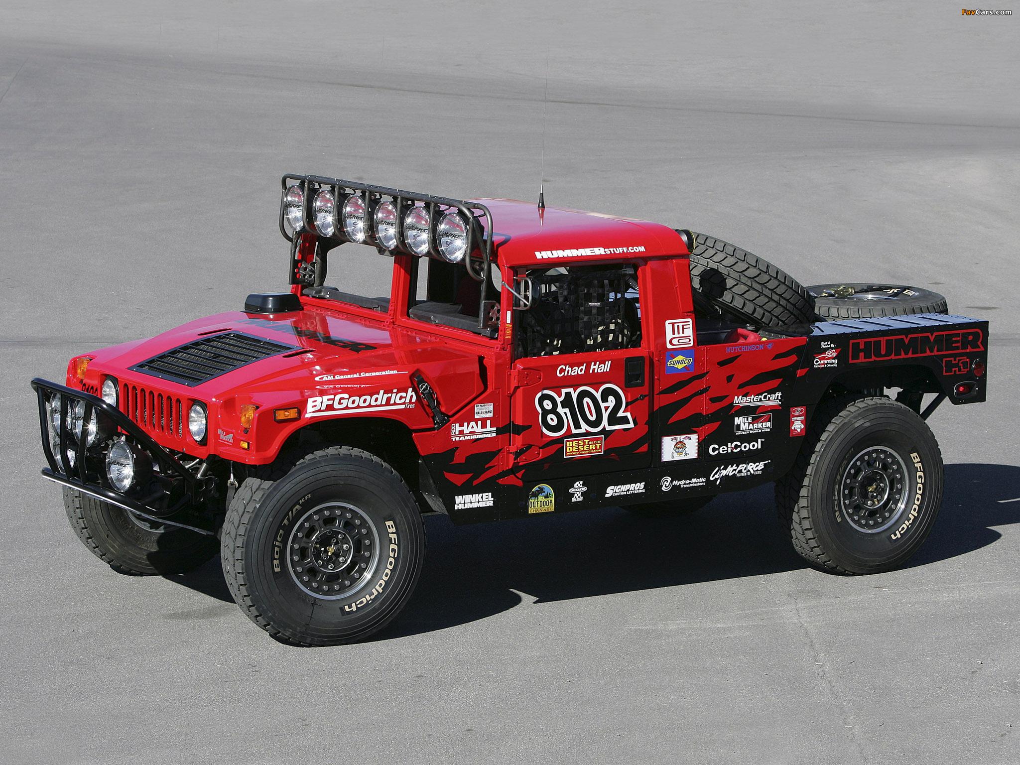 H1 Alpha Race Truck 2006 wallpapers