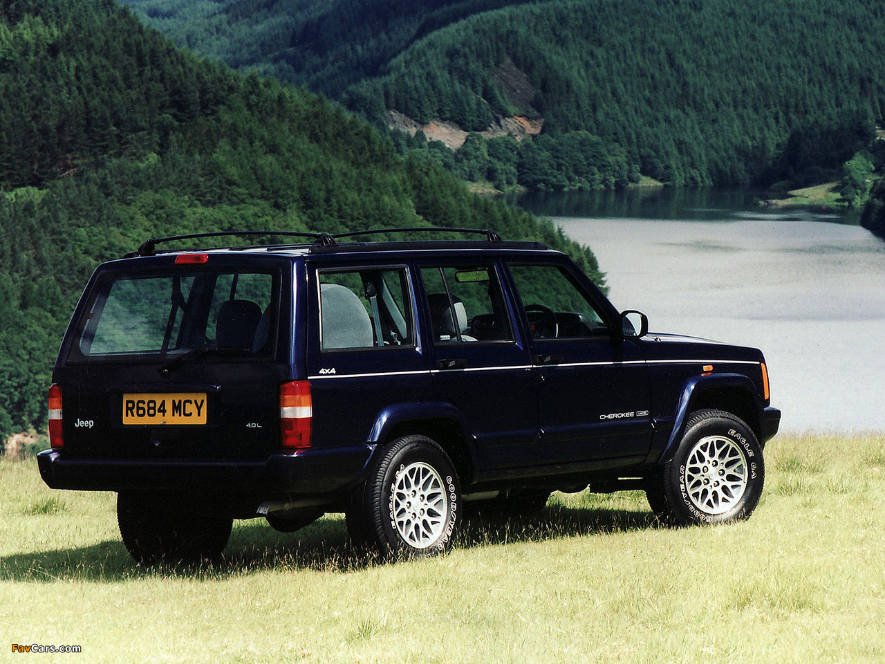 Images Of Jeep Cherokee Limited Ukspec (xj) 19982001