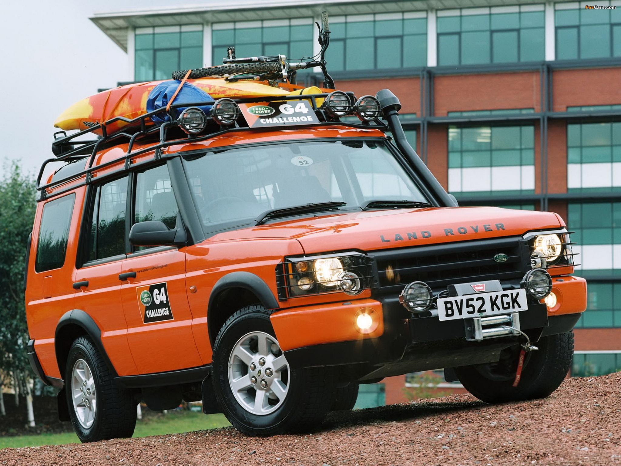 Rover Discovery G4 Edition 2003 pictures