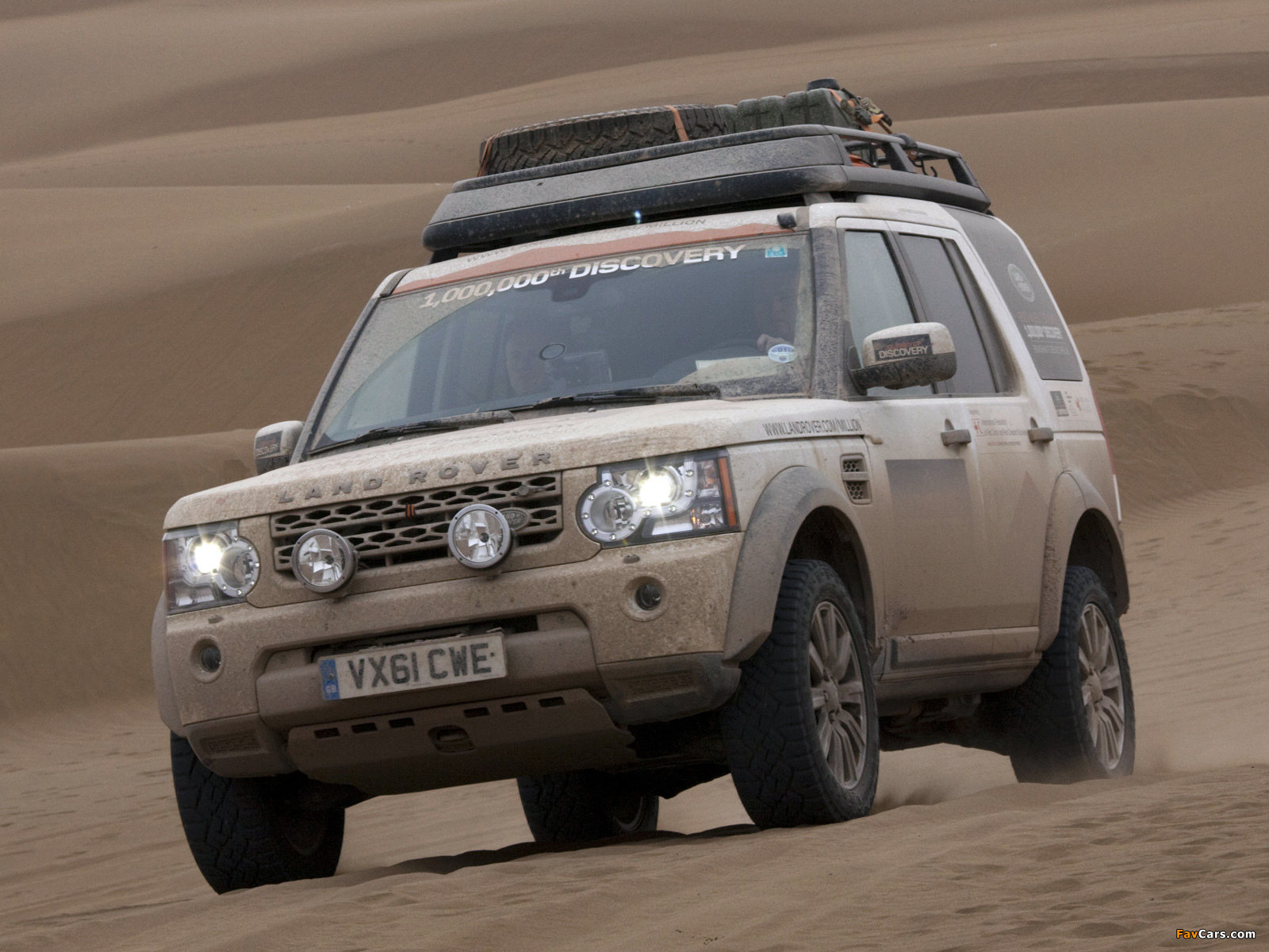 Land Rover Discovery 4 Expedition Vehicle 2012 wallpapers