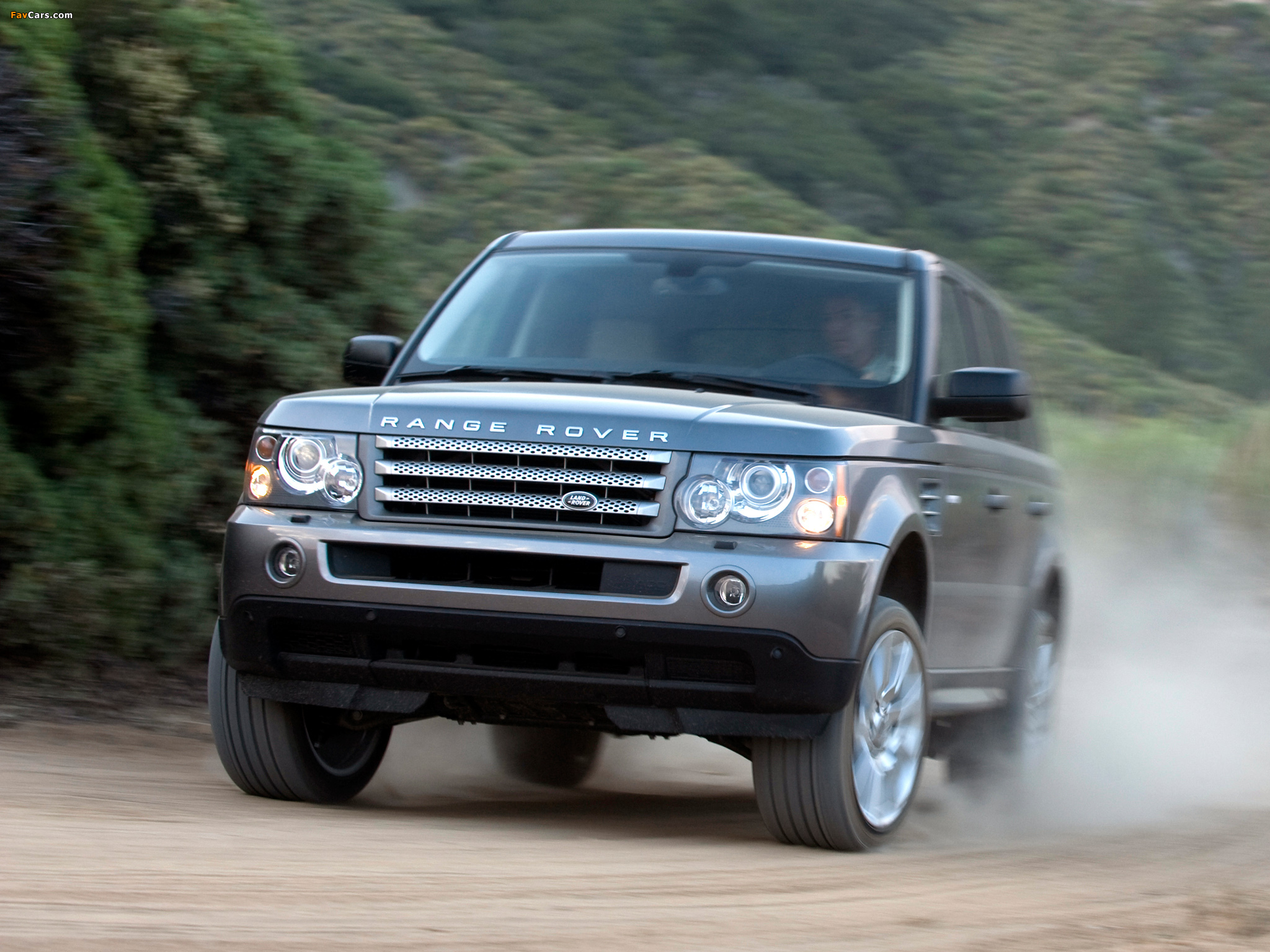 Rover Sport Supercharged US spec 2008–09 wallpapers