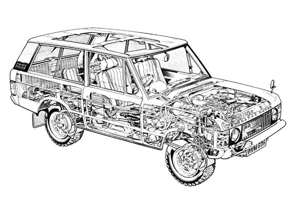 Range Rover 3-door 1970–86 images